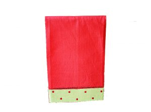 Red Green & Red Dot Towel